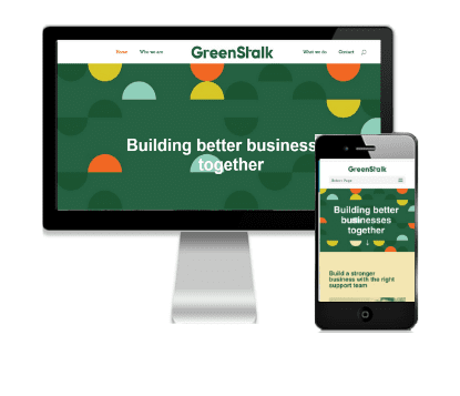 Vivacity Marketing Web Design Client - GreenStalk