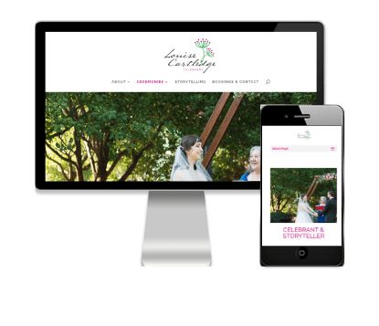 Website Design by Vivacity Marketing - Louise Cartledge