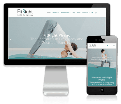 Vivacity Marketing Client - FitRight Physio