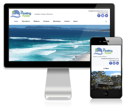 Vivacity Marketing Digital Marketing Client - The Floating Forest