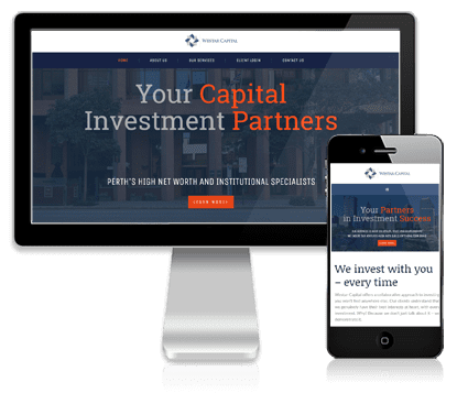 Vivacity Marketing Website Design Client - Westar Capital