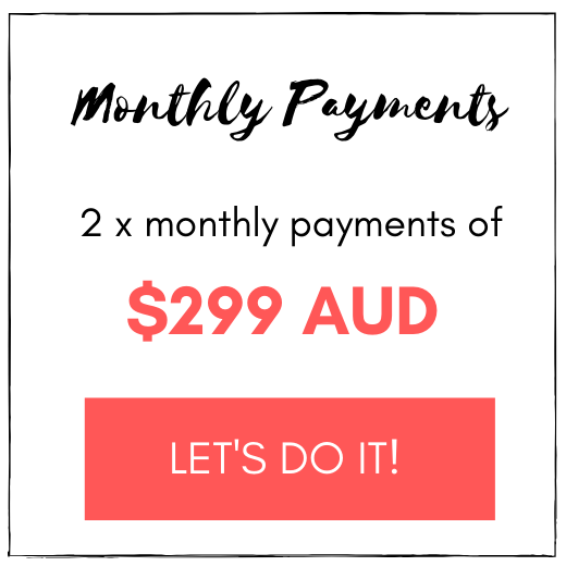Monthly Payments for Marketing School