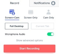 How to record your screen using Loom