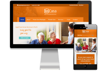InCasa client of Vivacity Marketing