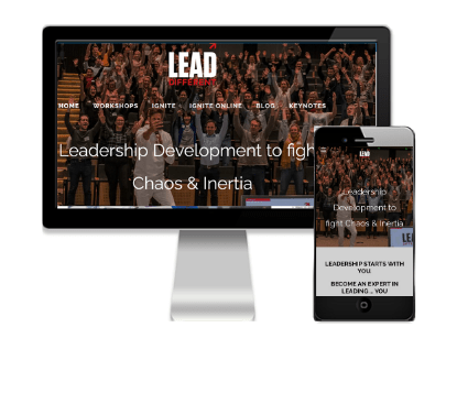 Lead Different - Client of Vivacity Marketing