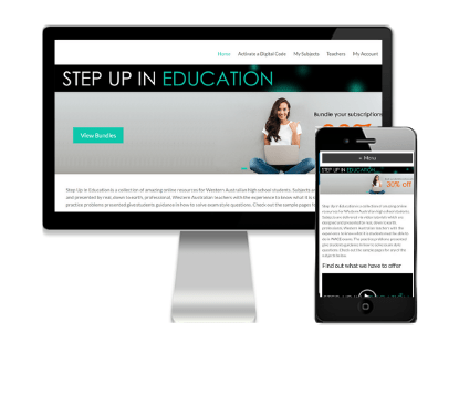 Step up in Education - Client of Vivacity Marketing