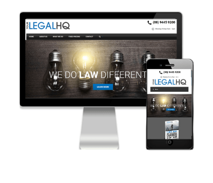 Your Legal HQ - Client of Vivacity Marketing