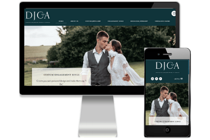 DJCA Website Design by Vivacity Marketing